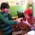 Eldin interviewt Frau Wilhelmer