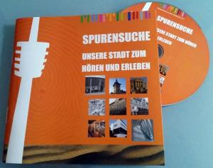 Spurensuche Booklet und CD